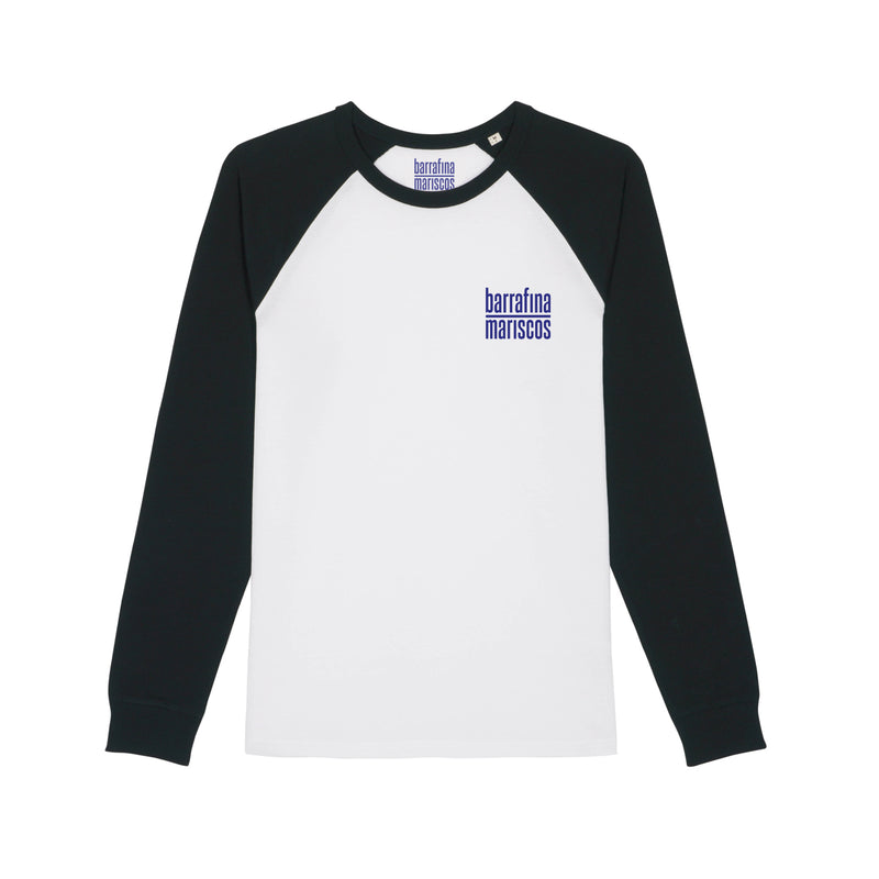 UJ Select x Barrafina Mariscos Black and White Baseball T-shirt