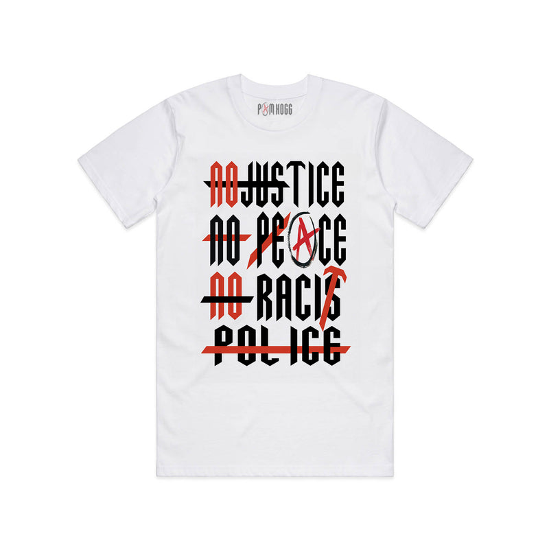 No Racist Police - ALL PROFITS TO BLACK LIVES MATTER