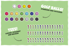 Load image into Gallery viewer, Golf Vector Pack – Stickers, Icons and Illustrations