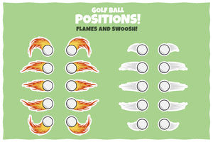 Golf Vector Pack – Stickers, Icons and Illustrations