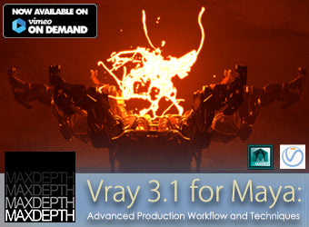 Vray for Maya: Advanced Training