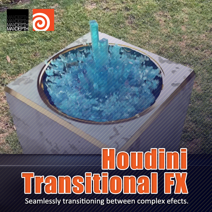 Houdini Transitional Effects