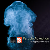 Particle Advection with Houdini Pyro