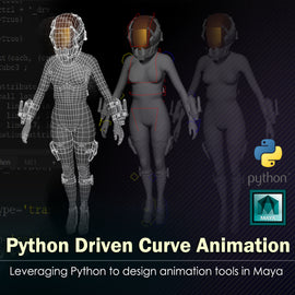 Python Driven Curve Animation