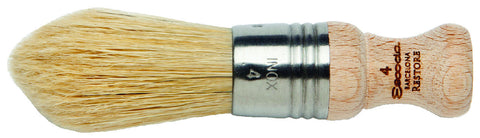 Chungking-Bristle Pointed Oval Brush #4