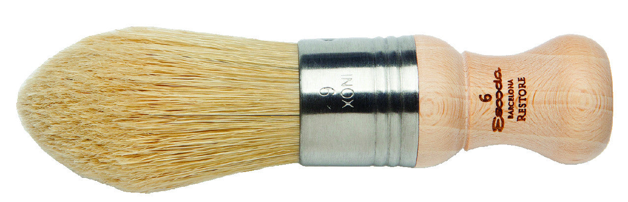 Chungking-Bristle Pointed Oval Brush #6