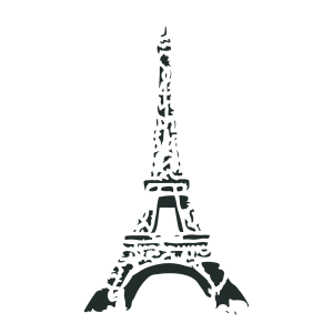 Eiffel Tower Stencil by Artisan Enhancements