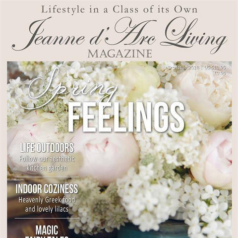 Jeanne d'Arc Living magazine--Current issue