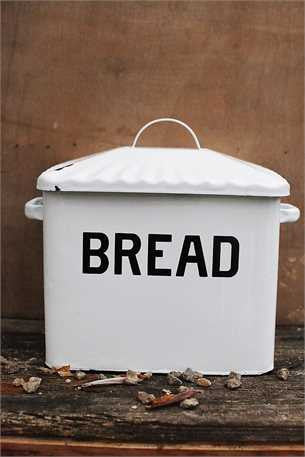 Farm Fresh Enamelware Bread Box