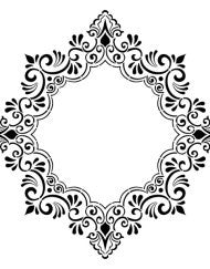 Decorative Frame Stencil by Artisan Enhancements
