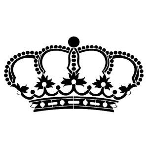 Crown Stencil by Artisan Enhancements