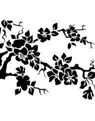 Flowering Branches Stencil by Artisan Enhancements