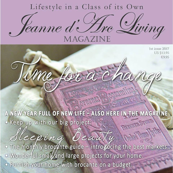 Jeanne d'Arc Living Magazine-- edition January 2017