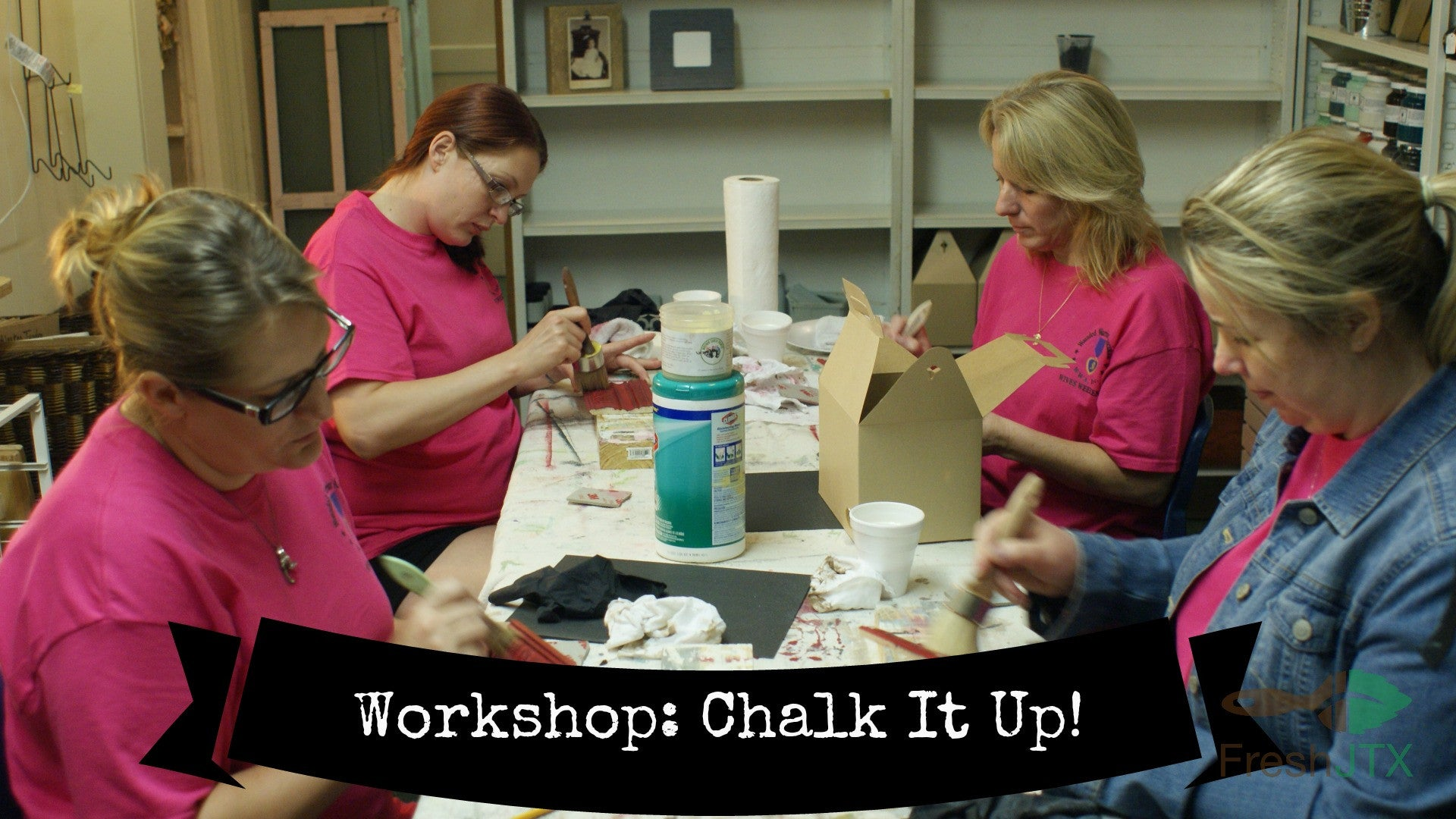 U Schedule It!   Chalk It Up Workshop--101