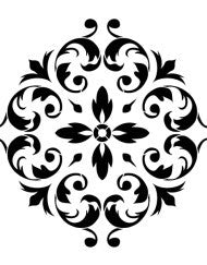 Renaissance Ornament Stencil by Artisan  Enhancements