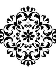 Versailles Ornament Stencil by Artisan Enhancements