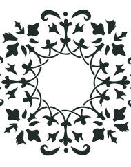 Wreath Stencil by Artisan Enhancements