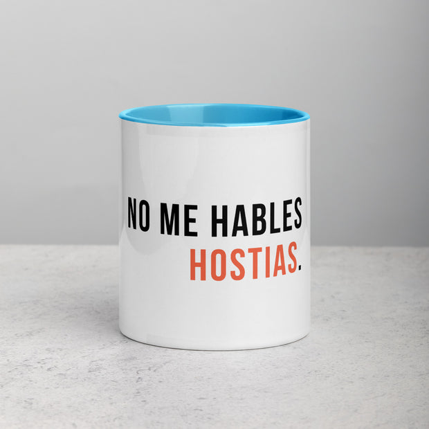 No me hables hostias (Blanco) - Taza de Café
