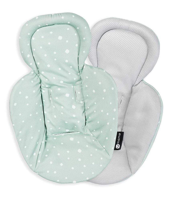 4 Moms rocking bouncing cradles 4Moms Mamaroo Reversible Insert Newborn Liner Green/Grey 20-37-002