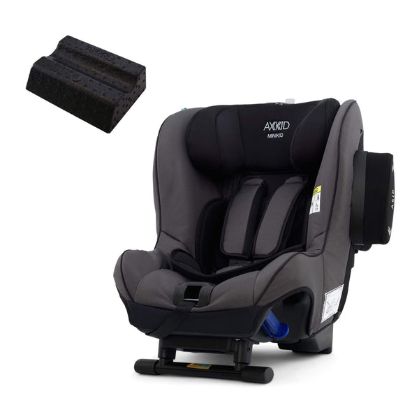 Axkid rear facing car seats Axkid Minikid Car Seat Granite & Free Car Seat Wedge 6RFHO72
