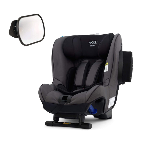 Axkid rear facing car seats Axkid Minikid Car Seat Granite with Free Baby Mirror OJFPAWK