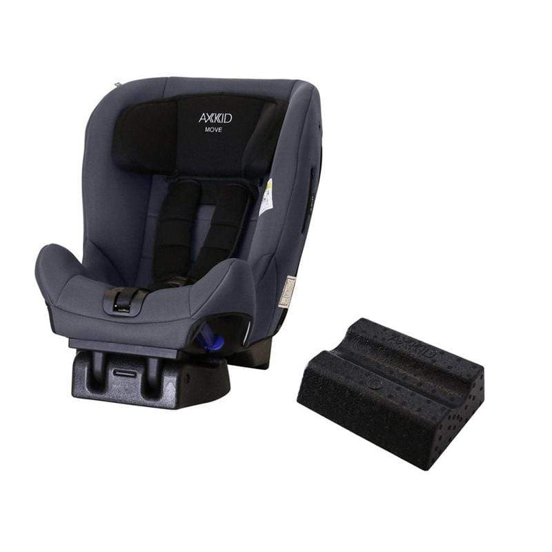 Axkid rear facing car seats Axkid Move Car Seat Grey with Free Car Seat Wedge K89TM48