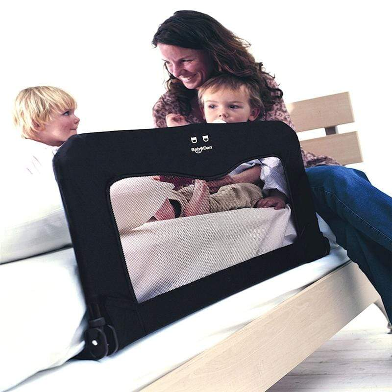 Baby Dan bed guards Baby Dan Folding Bed Rail/Guard Black 1820-11-00