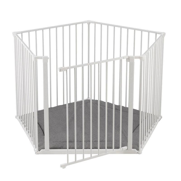 Baby Dan safety gates Baby Dan BabyDen Playpen White 67114-2400-1400