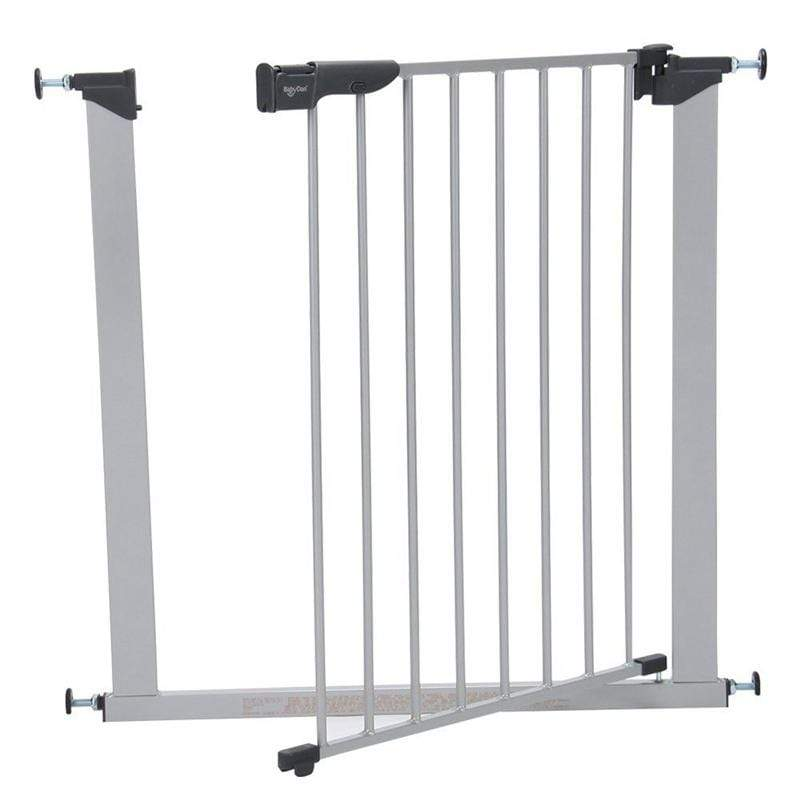 Baby Dan safety gates Baby Dan Premier Pressure Safety Gate Silver 60117-2690-01