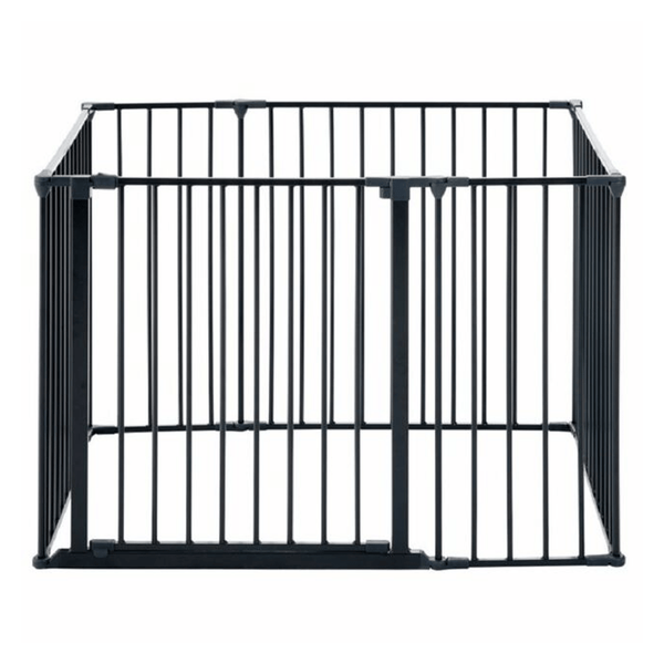 Baby Dan safety gates Baby Dan Square Playpen Black 69116-10600-1305-05