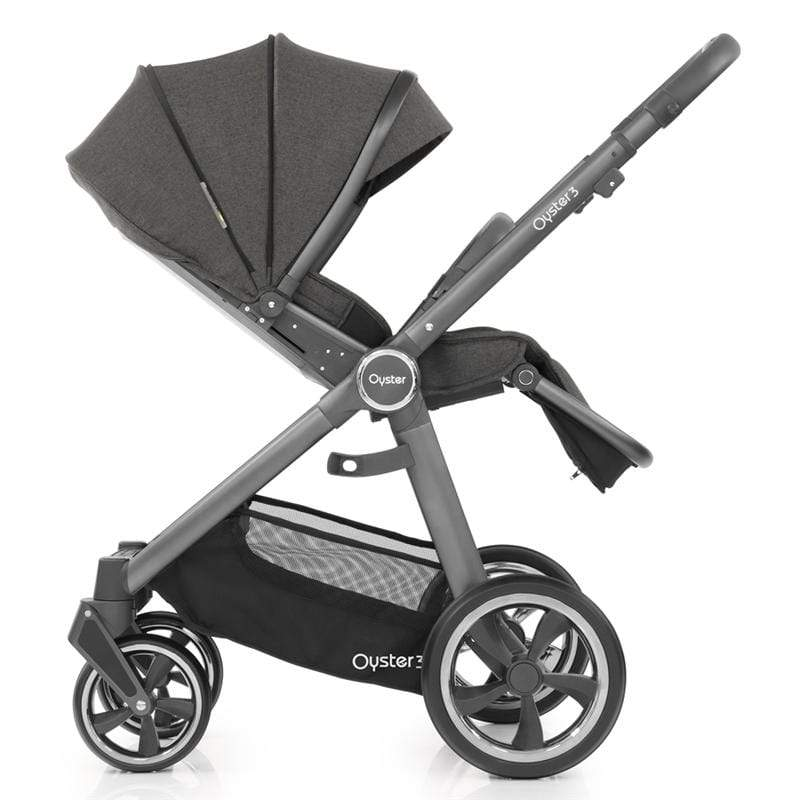 BabyStyle baby pushchairs Babystyle Oyster3 Pushchair City Grey/Pepper O3CHCIPP