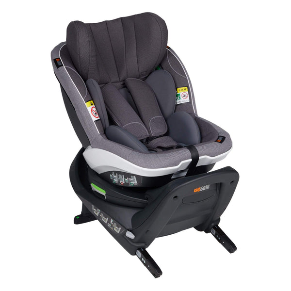BeSafe i-Size car seats BeSafe izi Turn i-Size Car Seat Metallic Melange 11007222MM