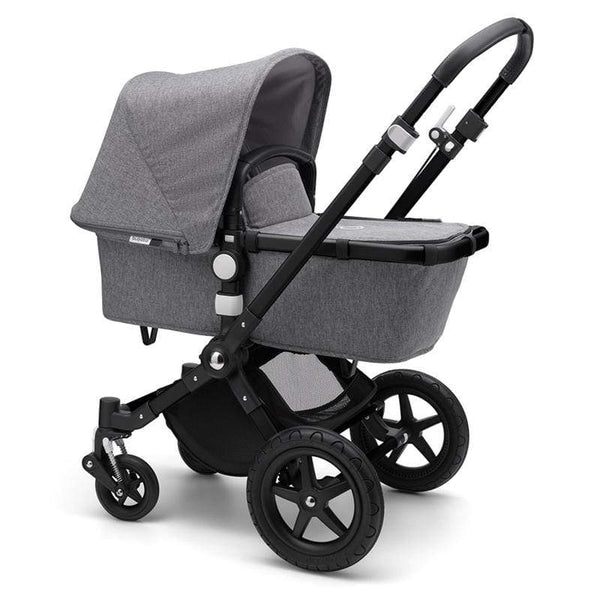 Bugaboo baby prams Cameleon 3 Plus Complete Pushchair Black/Grey Melange 20CS8ZC