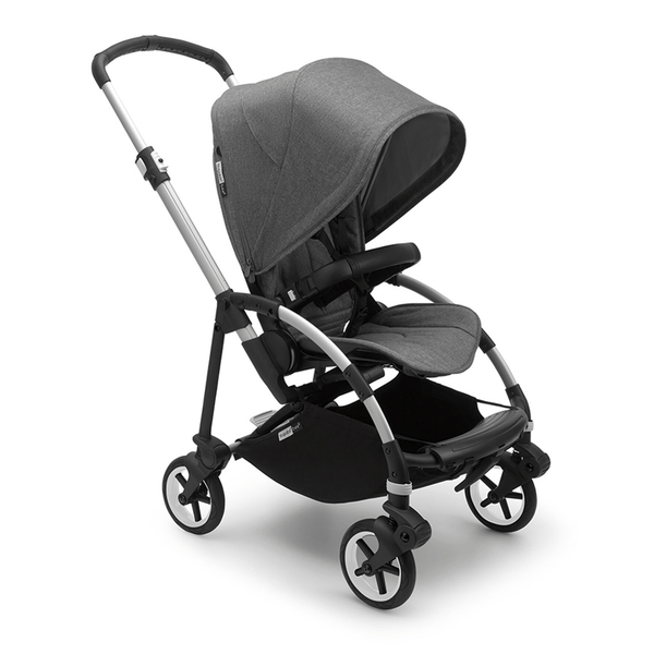 Bugaboo baby pushchairs Bugaboo Bee 6 Pushchair Alu/Grey Melange 502304GM01