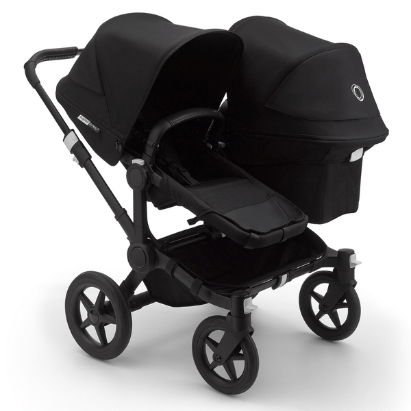 Bugaboo baby pushchairs Bugaboo Donkey 3 Duo Complete Black/Black 6864-BLK-BLK