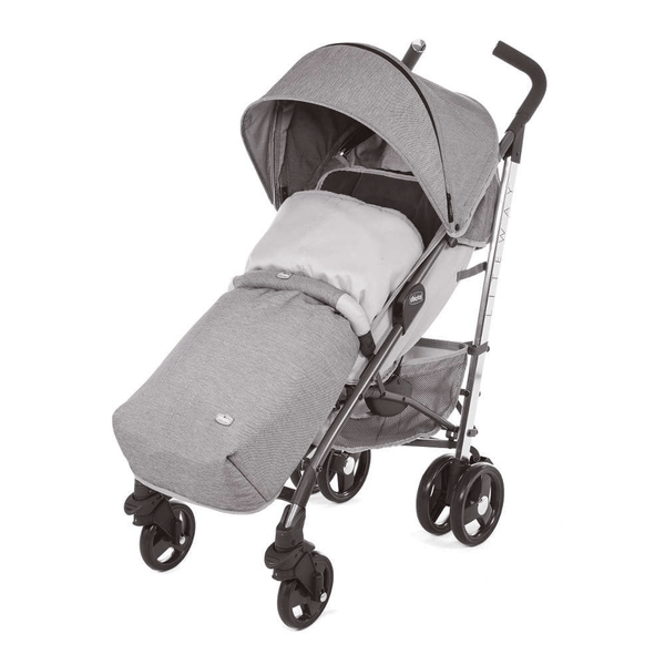 Chicco baby pushchairs Chicco Liteway3 Stroller Titanium 07079599840930