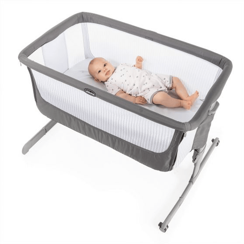 Chicco cribs Chicco Next2Me Air Sleeptime Bundle Dark Grey 6923-DK-GRY