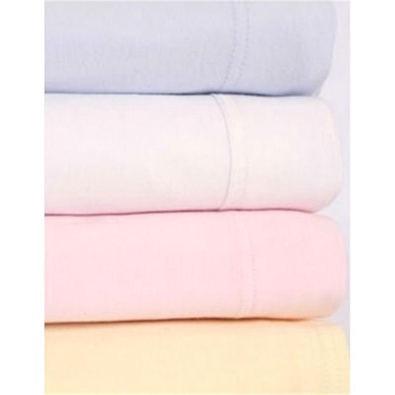Clair De Lune cot bed sheets Clair De Lune Cot Bed Fitted Sheet 2 Pack Pink CL3029P