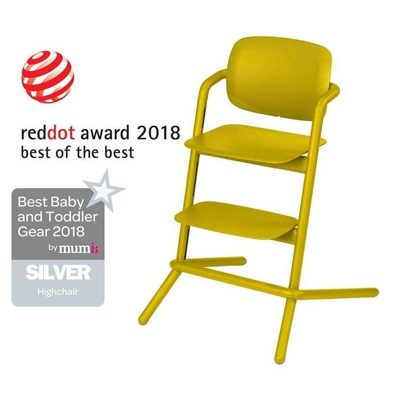 Cybex baby highchairs Cybex LEMO Highchair Canary Yellow 518001475