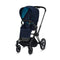 Cybex baby pushchairs Cybex e-Priam Pushchair Matt Black/Nautical Blue 6311-MBLK-NBLU