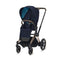 Cybex baby pushchairs Cybex e-Priam Pushchair Rose Gold/Nautical Blue 6309-ROSE-NBLU