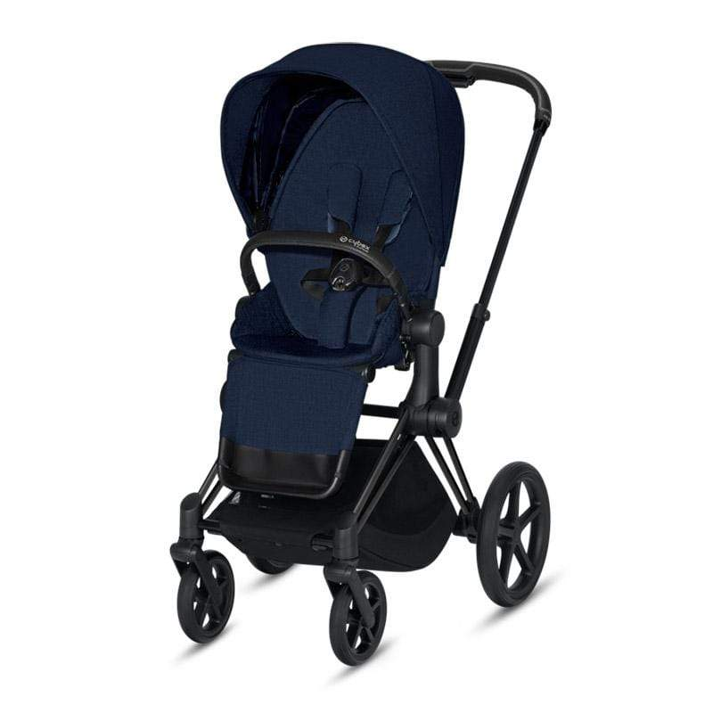 Cybex baby pushchairs Cybex Priam Pushchair Matt Black/Midnight Blue Plus M91R1V0