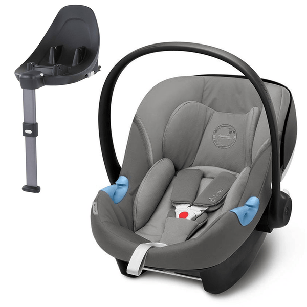 Cybex i-Size car seats Cybex Aton M i-Size Car Seat & Base M Soho Grey 6727-SHO-GRY