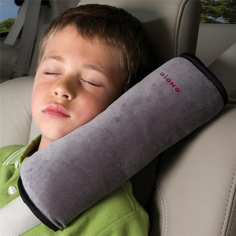Diono in car comfort & safety Diono Seatbelt Pillow Grey 60025
