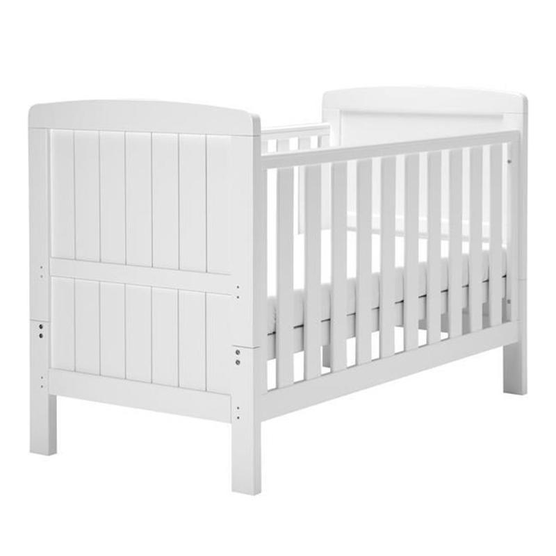 East Coast baby cot beds East Coast Austin Cotbed White 7194