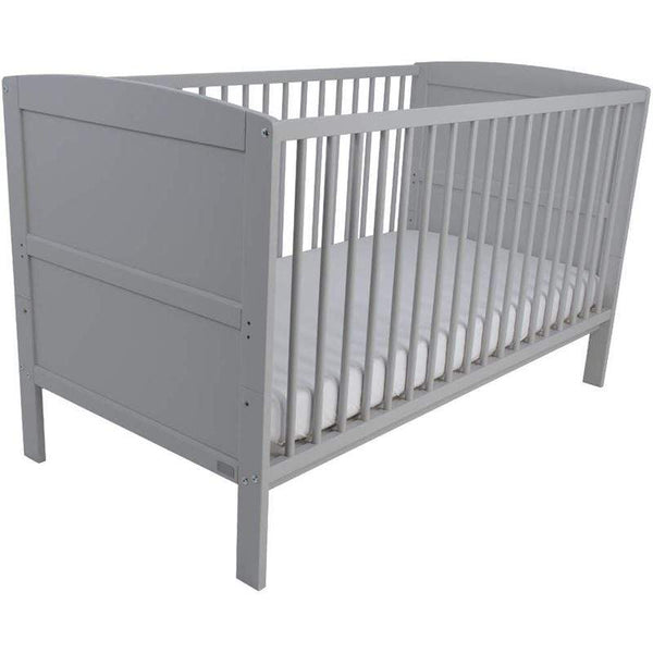 East Coast baby cot beds East Coast Hudson Cotbed Grey 5850G