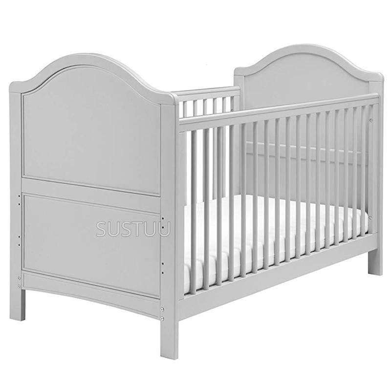 East Coast baby cot beds East Coast Toulouse Cot Bed Grey 7838