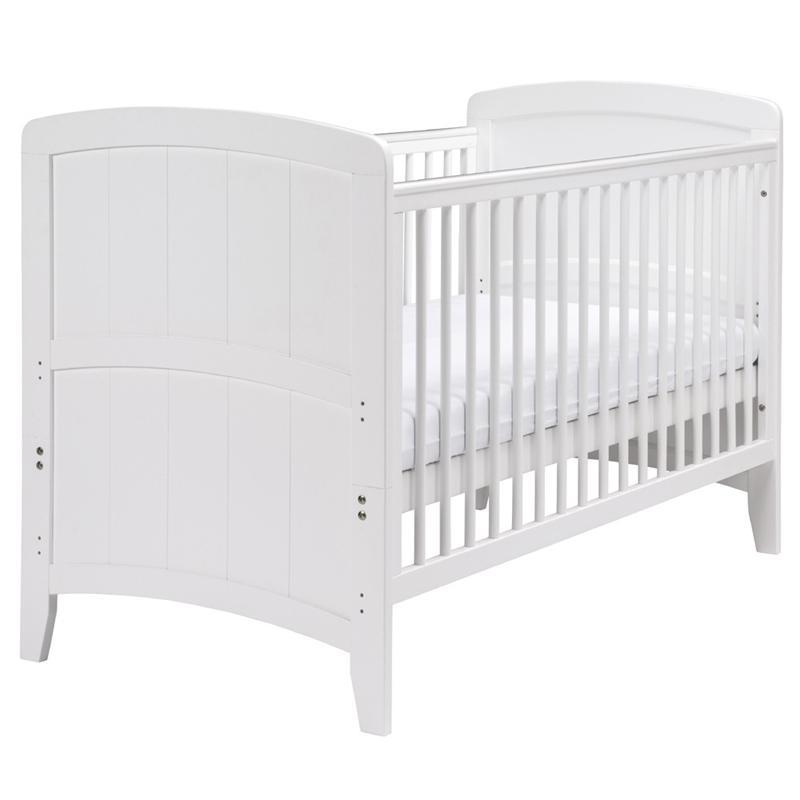 East Coast baby cot beds East Coast Venice Cotbed White 7846W