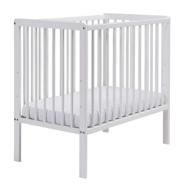 East Coast baby cots East Coast Carolina Space Saving Cot White 7841W