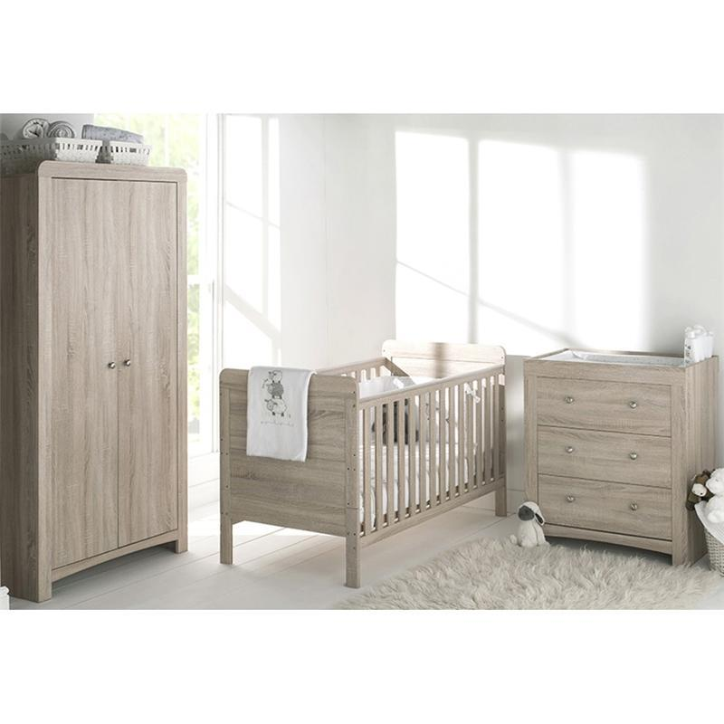 East Coast cot bed room sets East Coast Fontana 3 Piece Roomset 774456